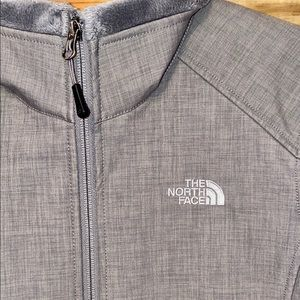 The North Face grey cromium thermal coat medium